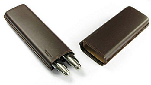 stylo-autre-etuit-acier-cuir-marron-porche-design